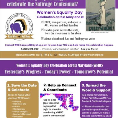 Women's Equality Day Celebration 2021