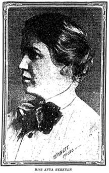 side profile of Anna Kerkner