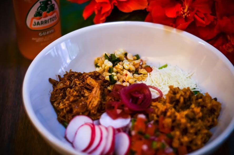 Latin Bowl - Cochinita Pibil, Screaming Goat Taqueria, Sarasota, Florida