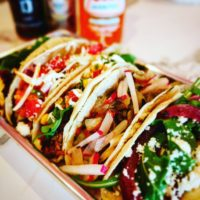 Tacos at The Screaming Goat Taqueria, Gulf Gate, Sarasota, Florida, Chef Malin Parker