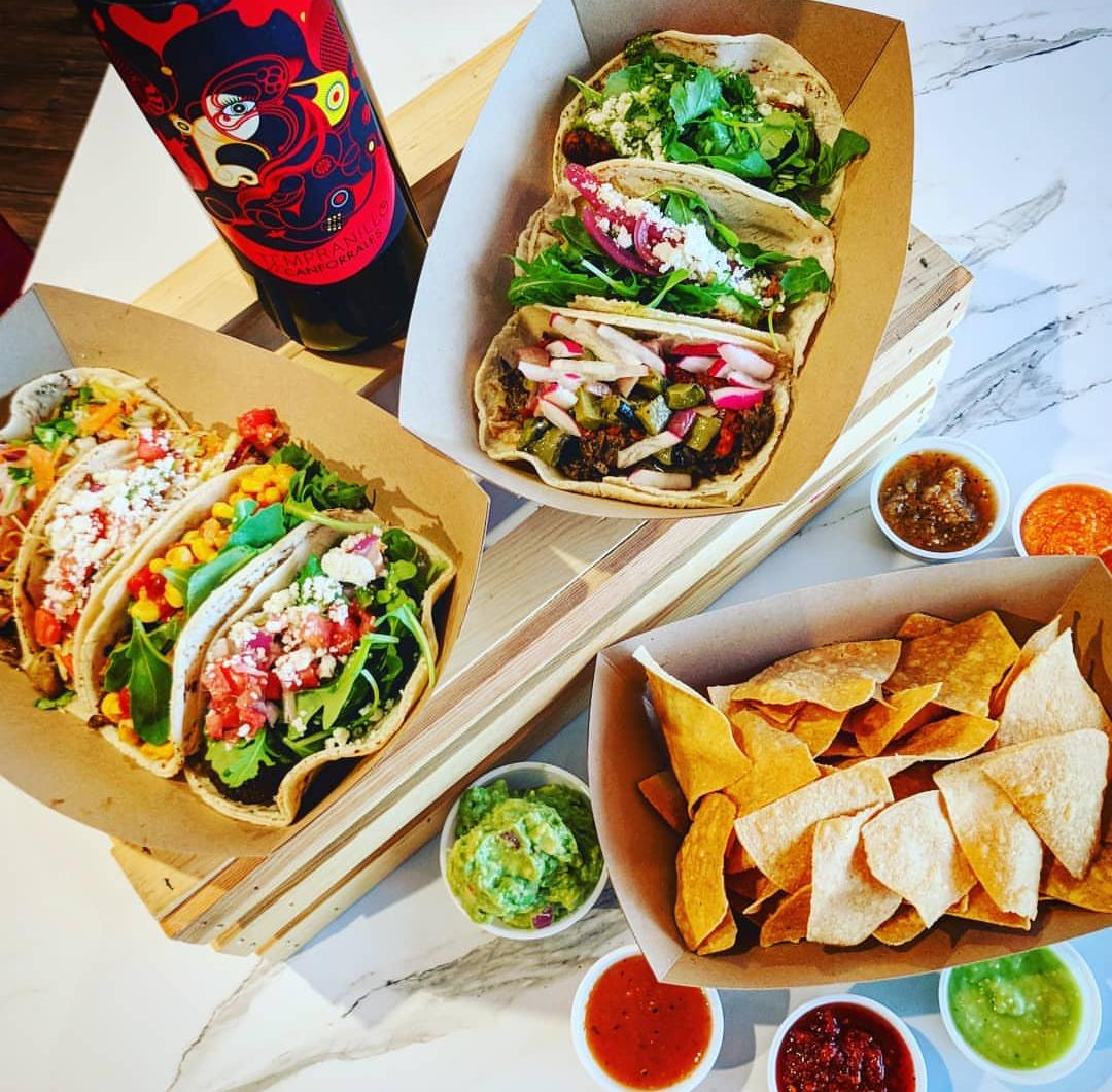 Baskets of Tacos