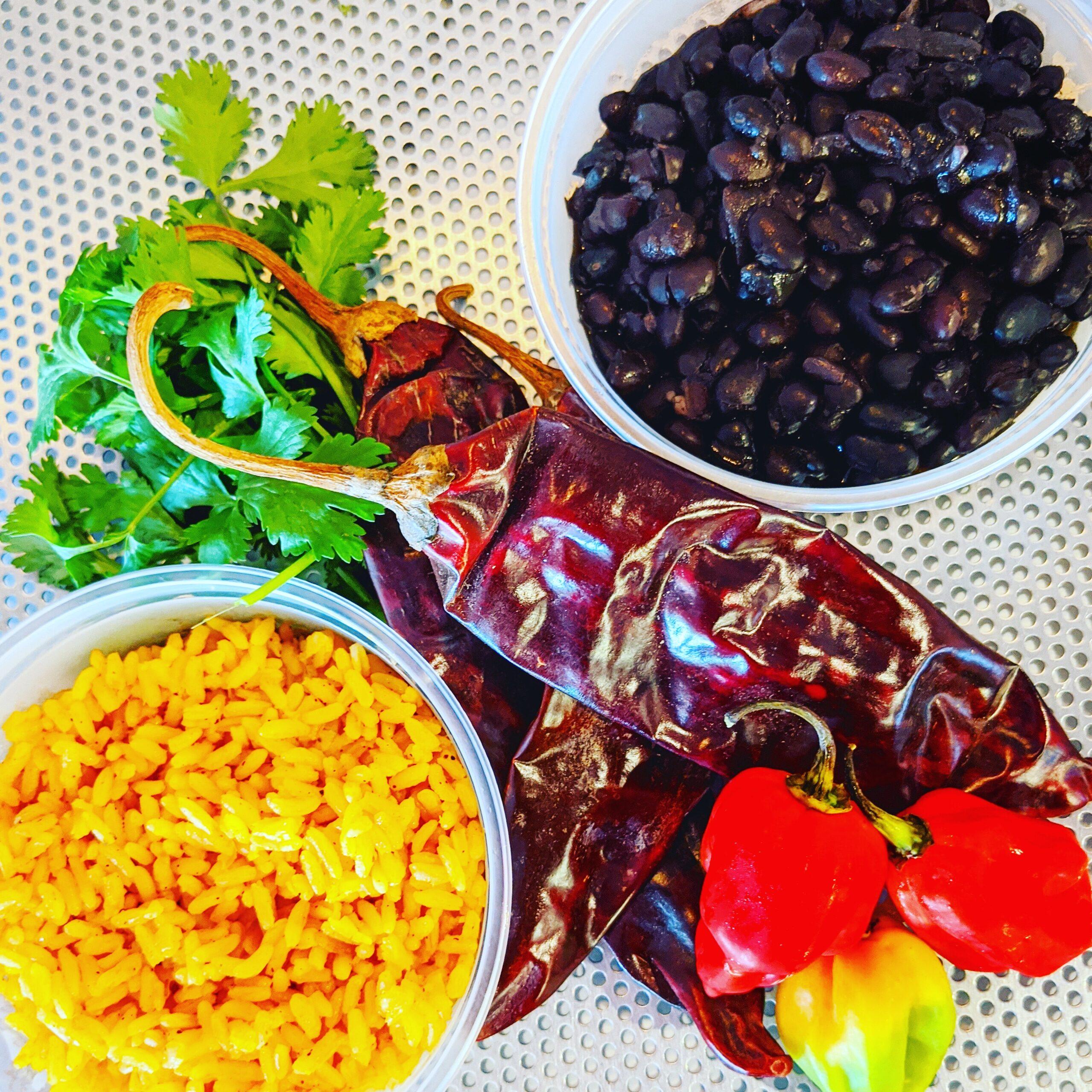 Screaming Goat Taqueria Rice & Beans