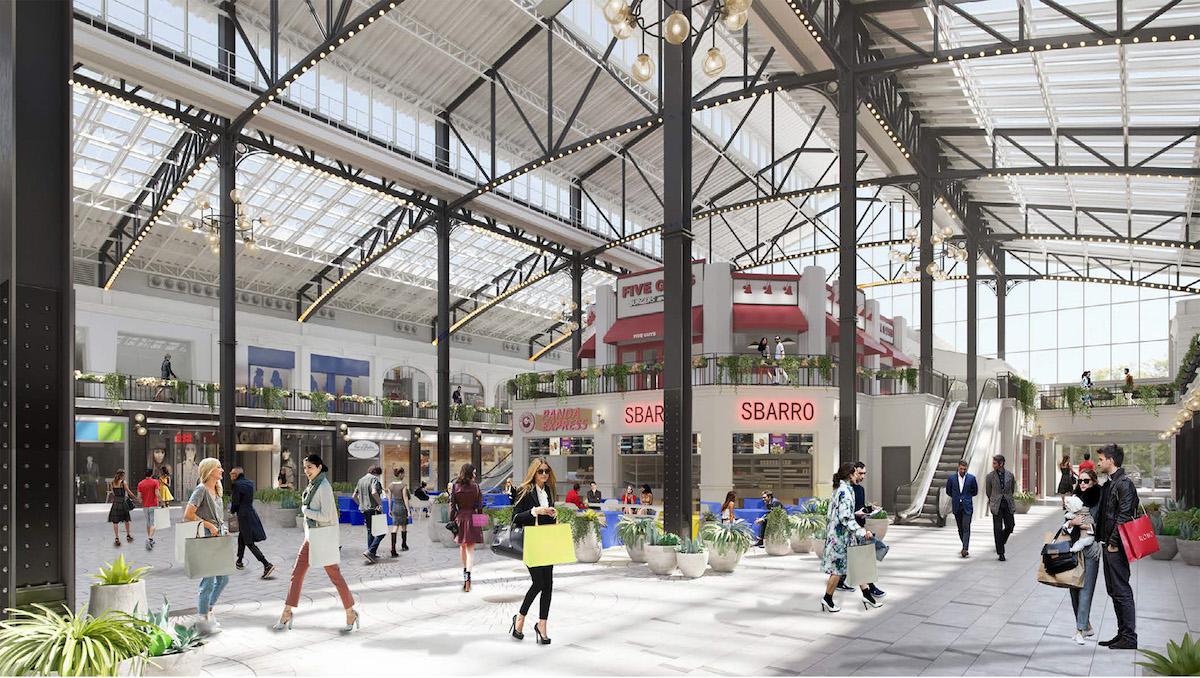 Easton Station Ohio Interior Model Design Architect