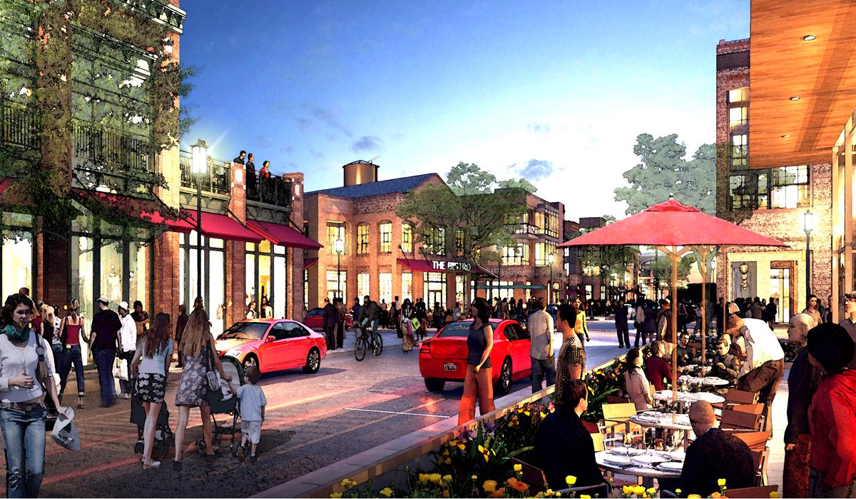 Easton Urban District Ohio Town Center Design Architect