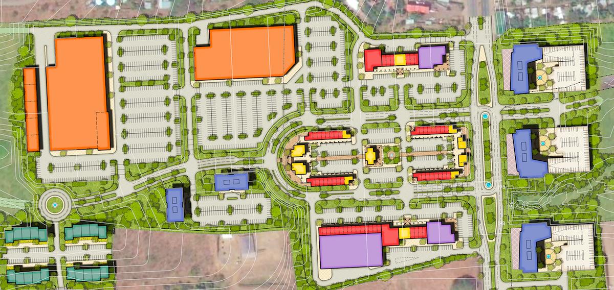 El Consuelo Town Center Nicaragua Master Plan