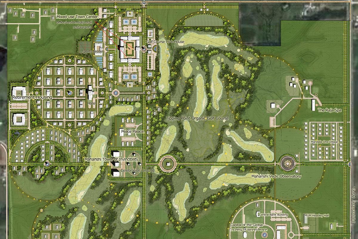 Maharishi Vedic City master plan
