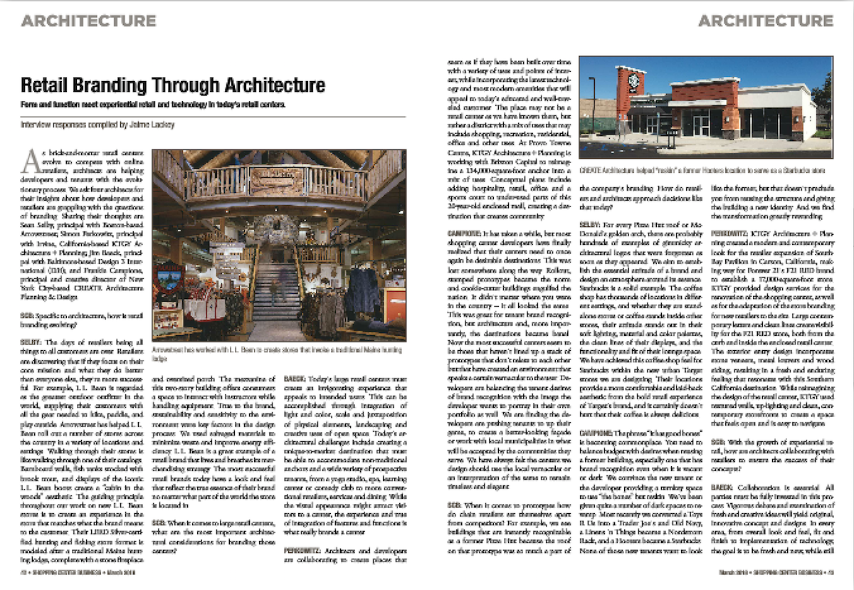 D3i Shopping Center Business, Retail Branding article