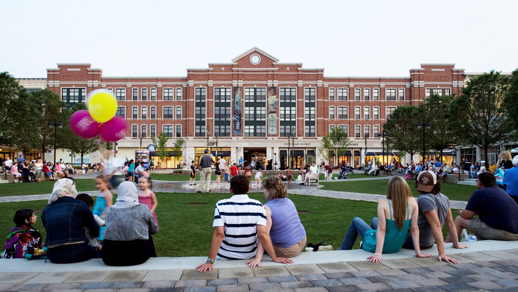 The Green Town Center Dayton Design Architects