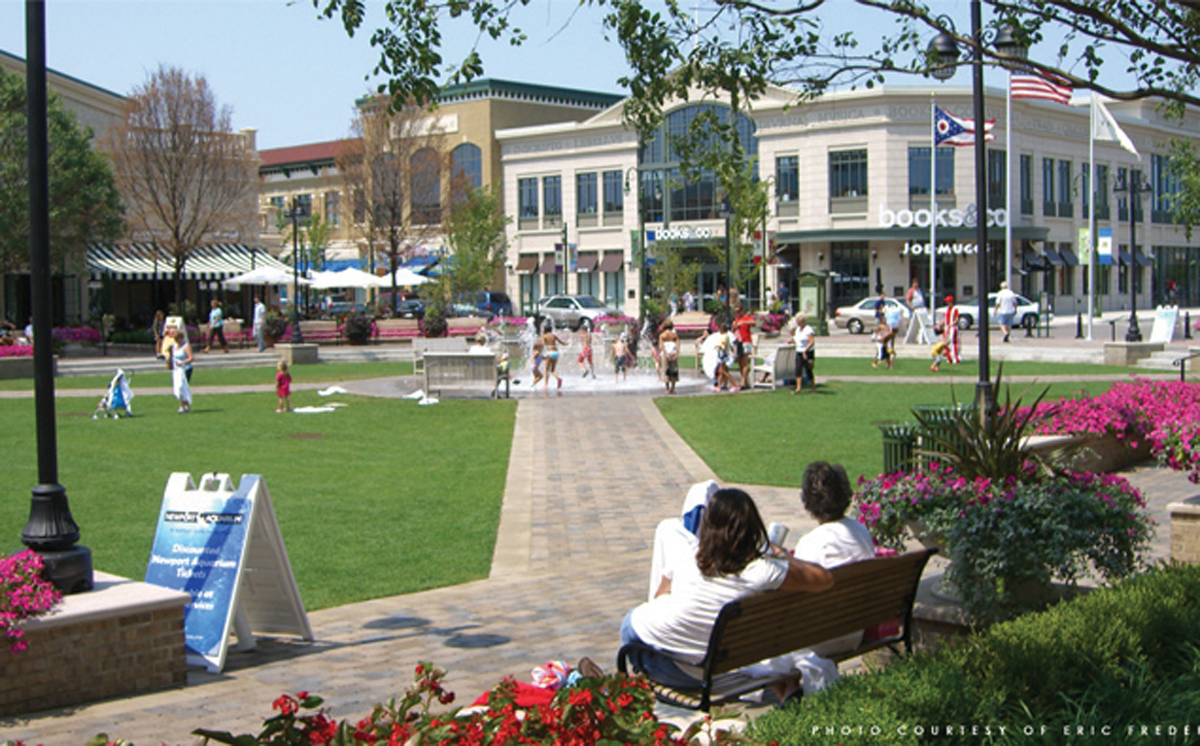 Green Town Center Design Architects