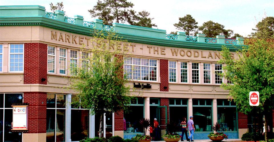 Market Street Woodlands Town Center Design Architects