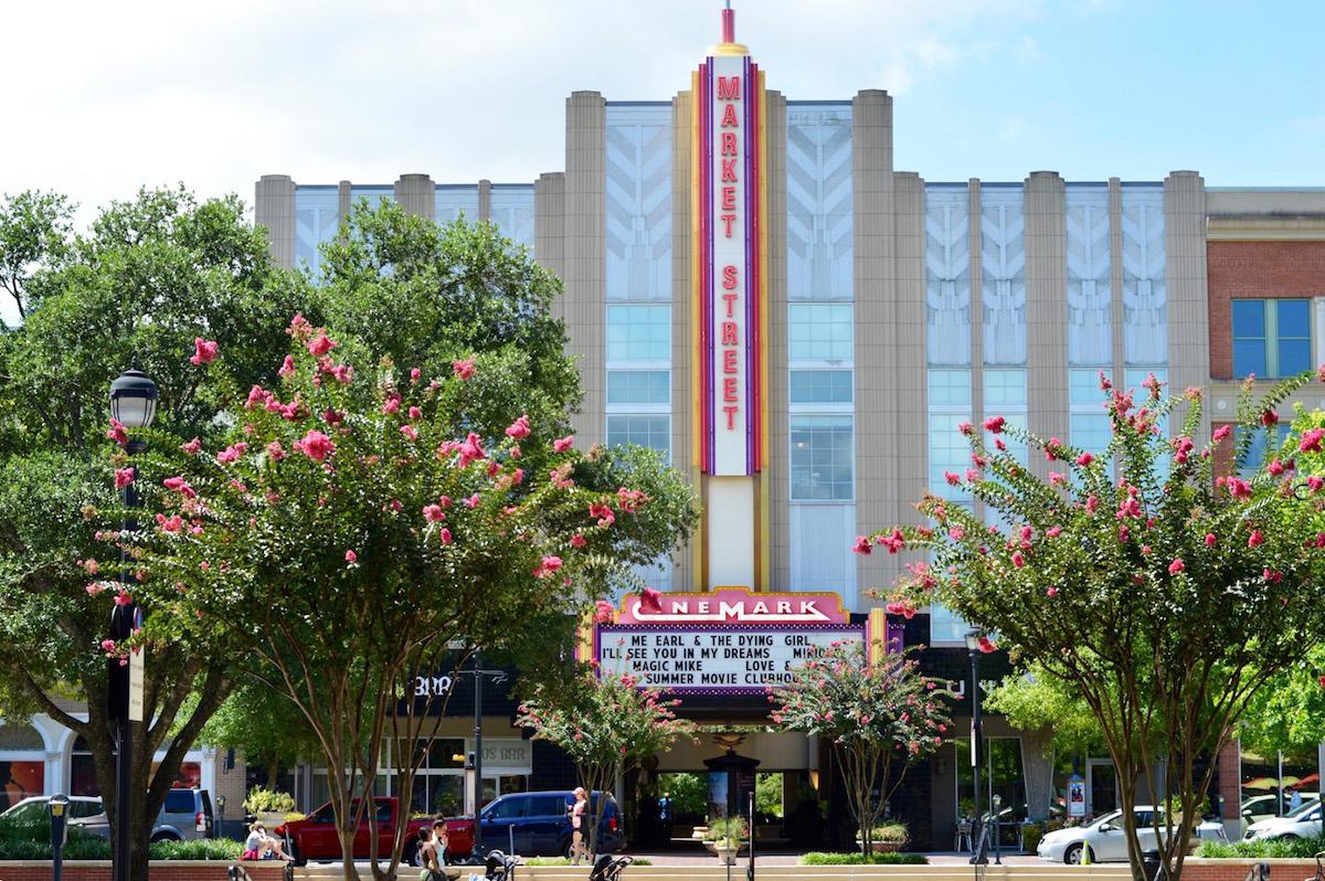 Market Street Woodlands Town Center Texas Design Architects