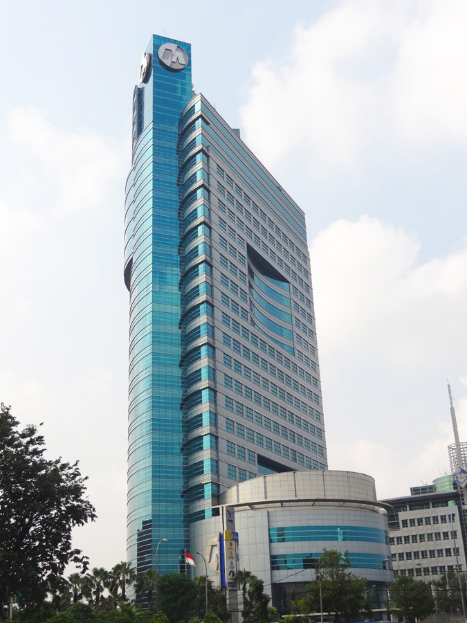 Menara Bank Mega Jakarta Indonesia Design Architects