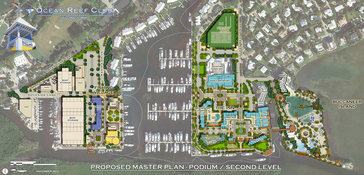 Ocean Reef Club Key Large Master Plan Design Architects