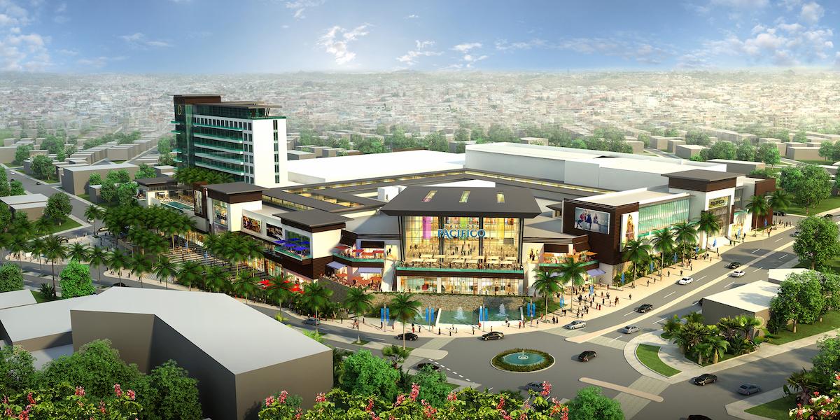 Pacific Hotel Mall Ecuador Design Architects / Architectos
