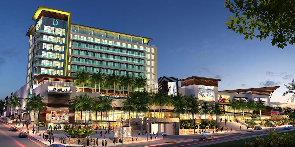 Pacifico Mall Design Architects