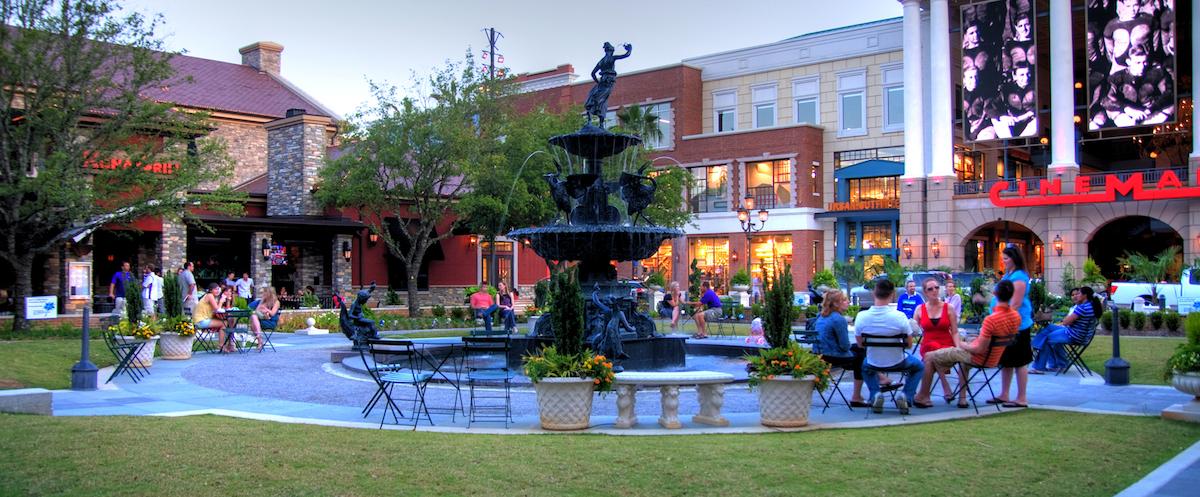 Perkins Rowe Baton Rouge Louisiana Design Architects