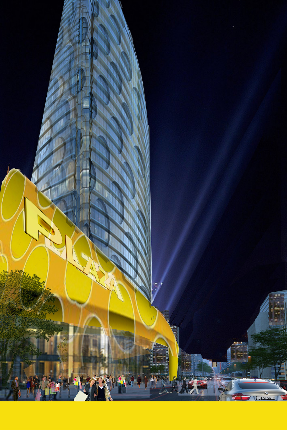 Plaza 250 Istanbul Turkey Design Architects