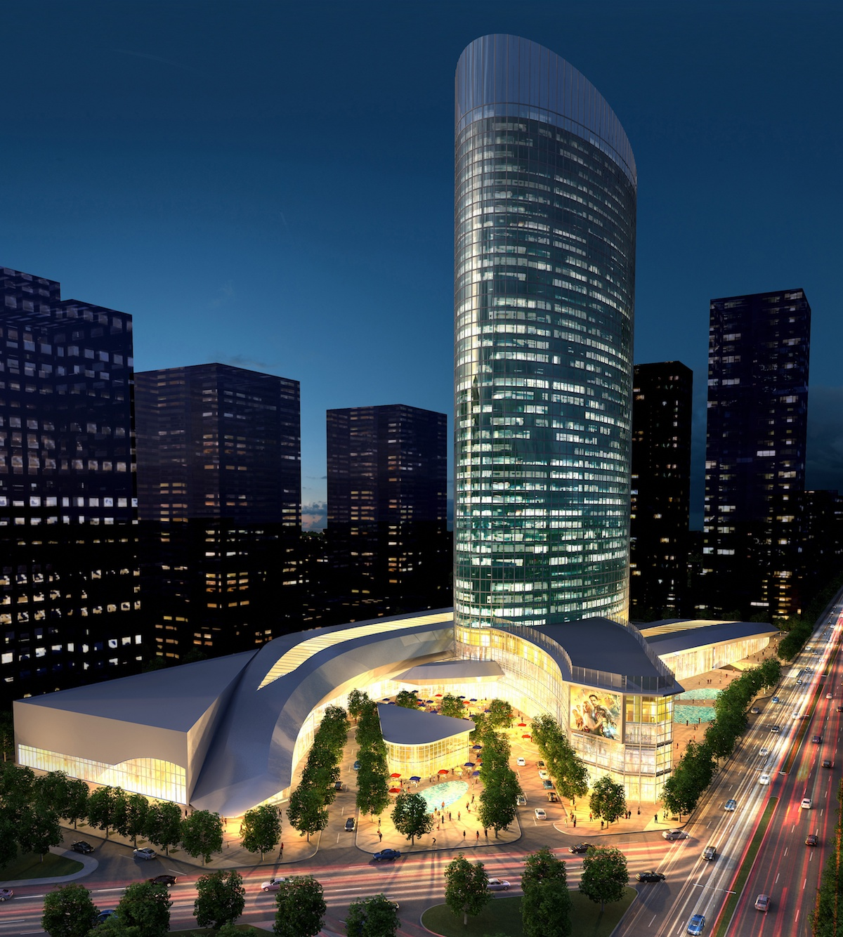 Plaza 250 Turkey Design Architects / Mimarlar
