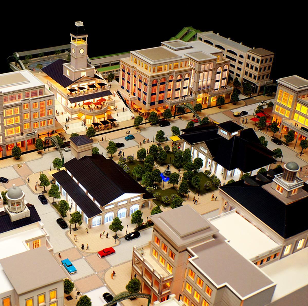 Ronknokoma Station Square Long Island Design Architects