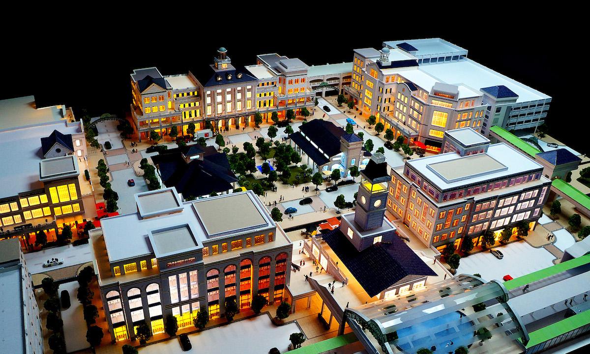 Ronknokoma Station Square Long Island New York Design Architects