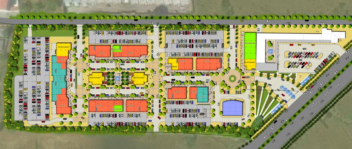 Santo Domingo Nicaragua Town Center Design Architects