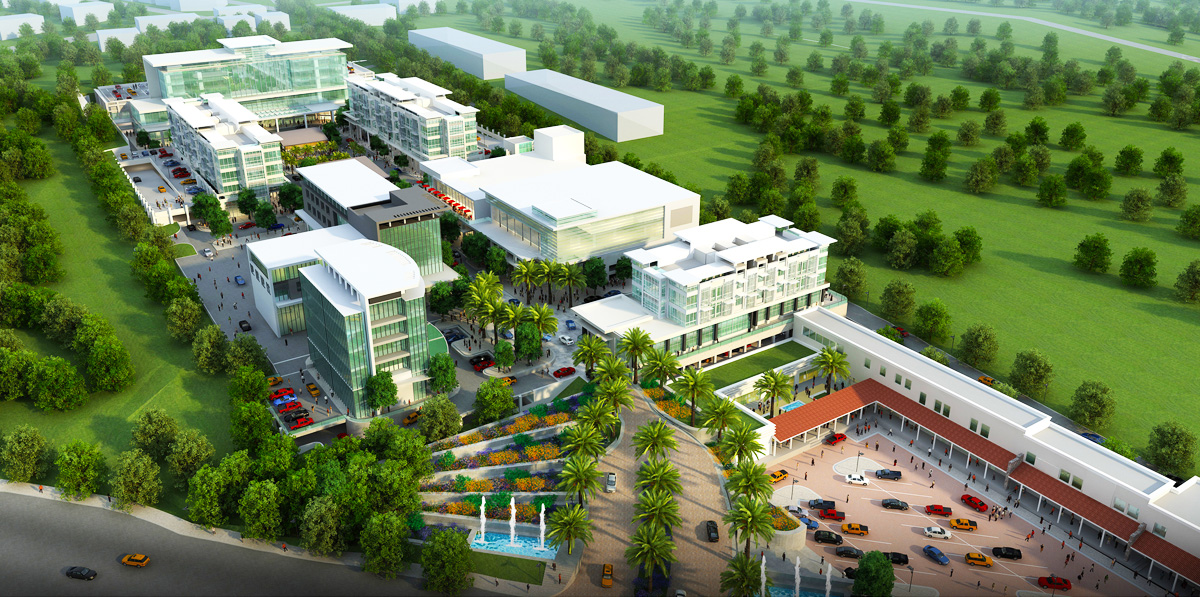 Santo Domingo Town Center Design Architects