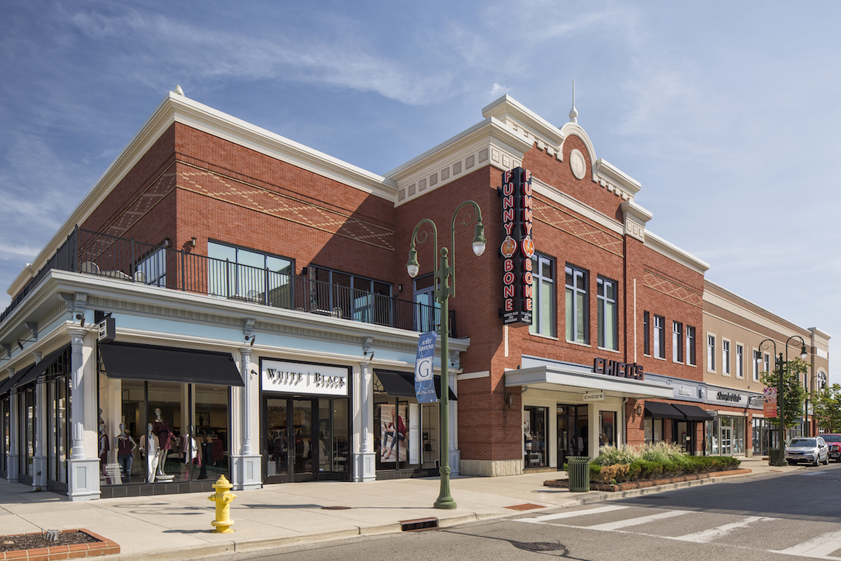 The Green Town Center Design Architects