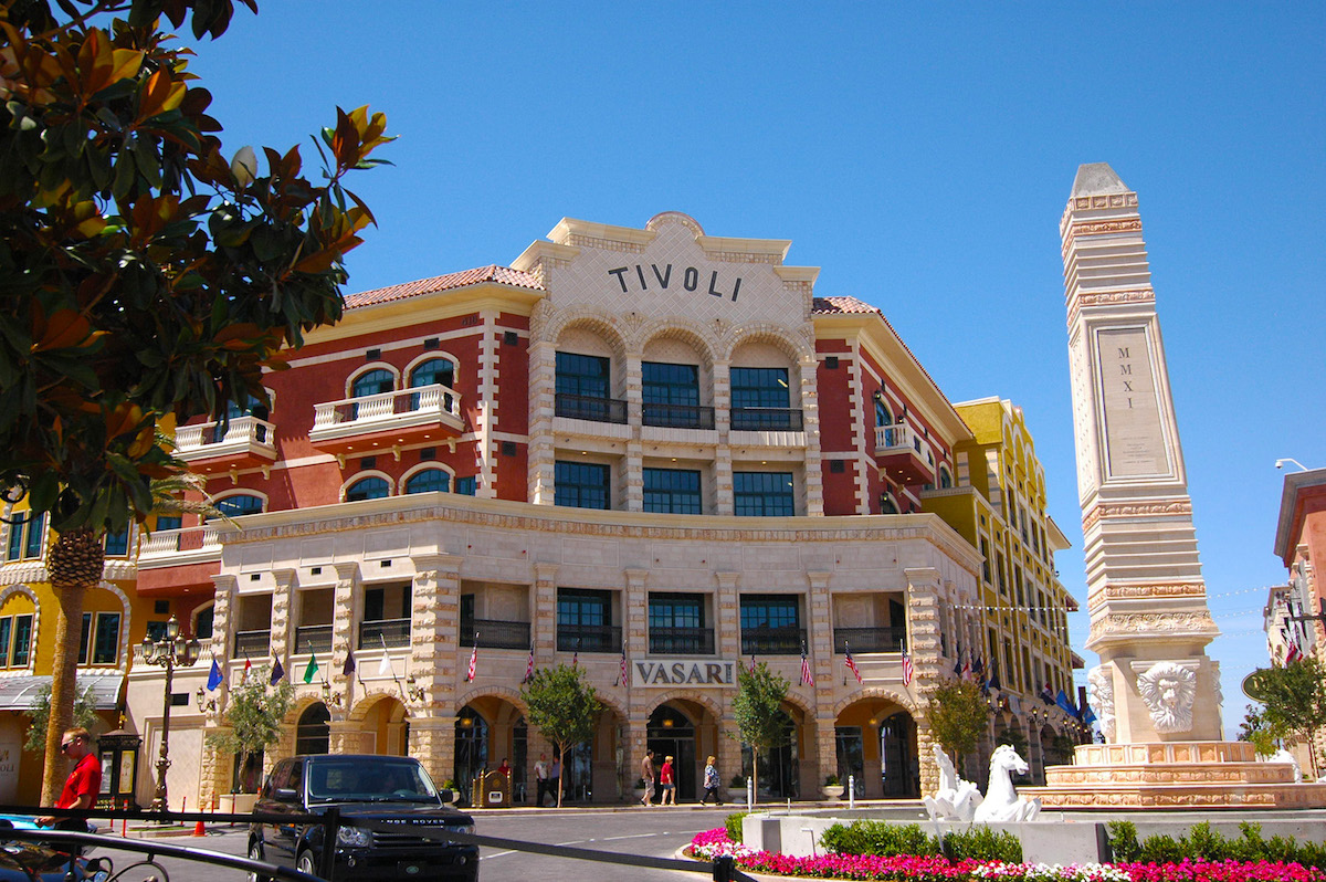Tivoli Village Las Vegas Nevada Design Architects