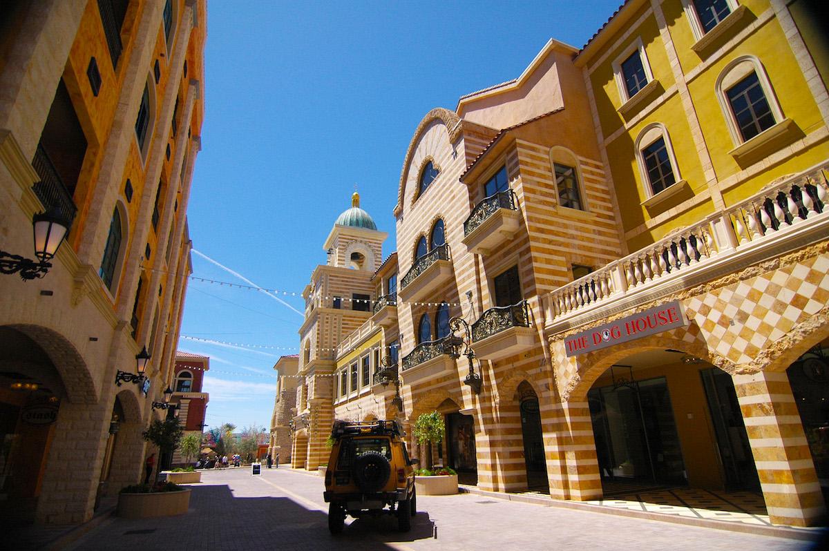 Tivoli Village Queensbridge Las Vegas Design Architects