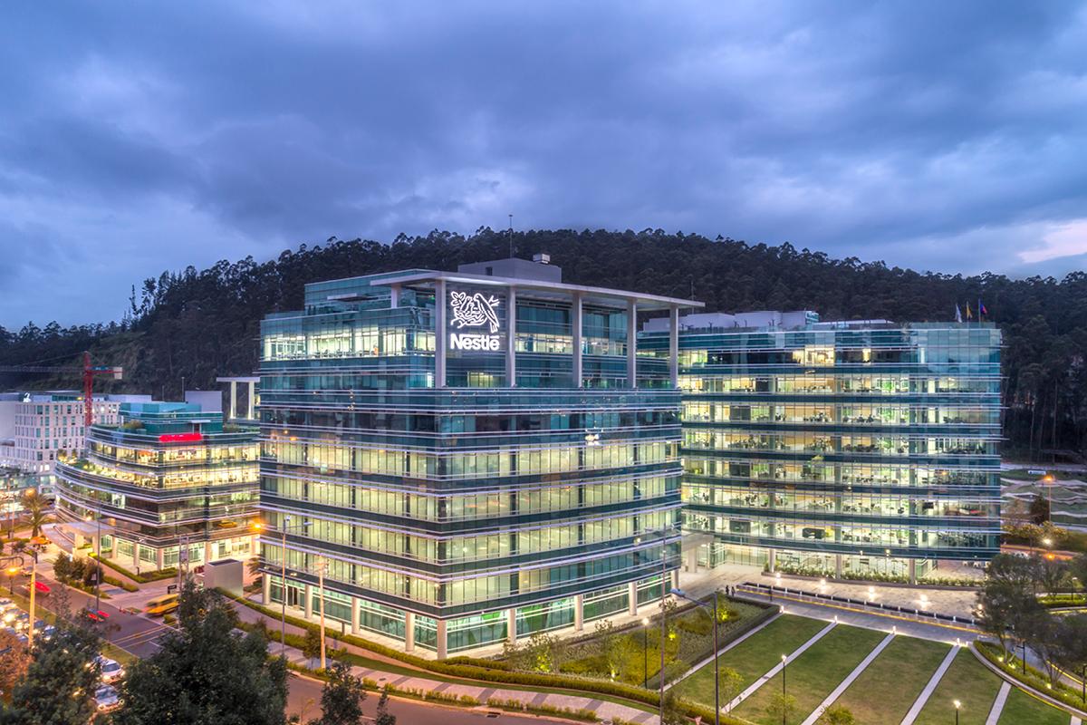 EkoPark Quito Nestle building