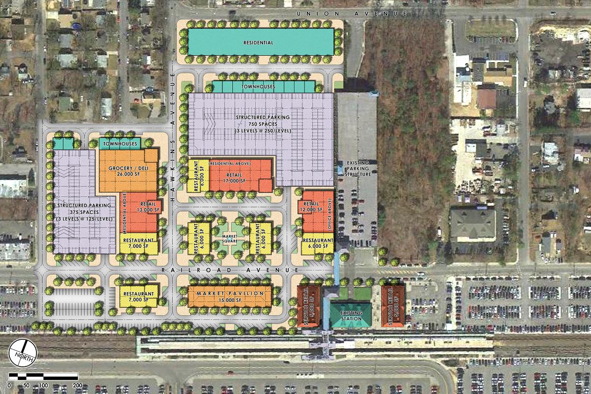 Ronkonkoma Station Square master plan