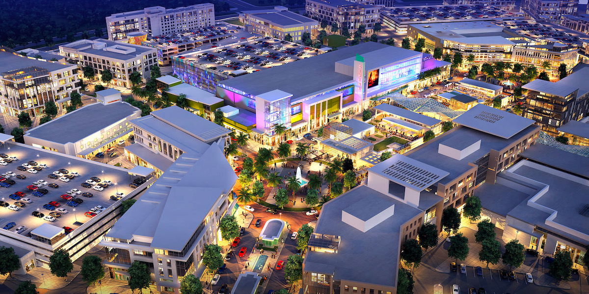 LAKE NONA Town Center Evening