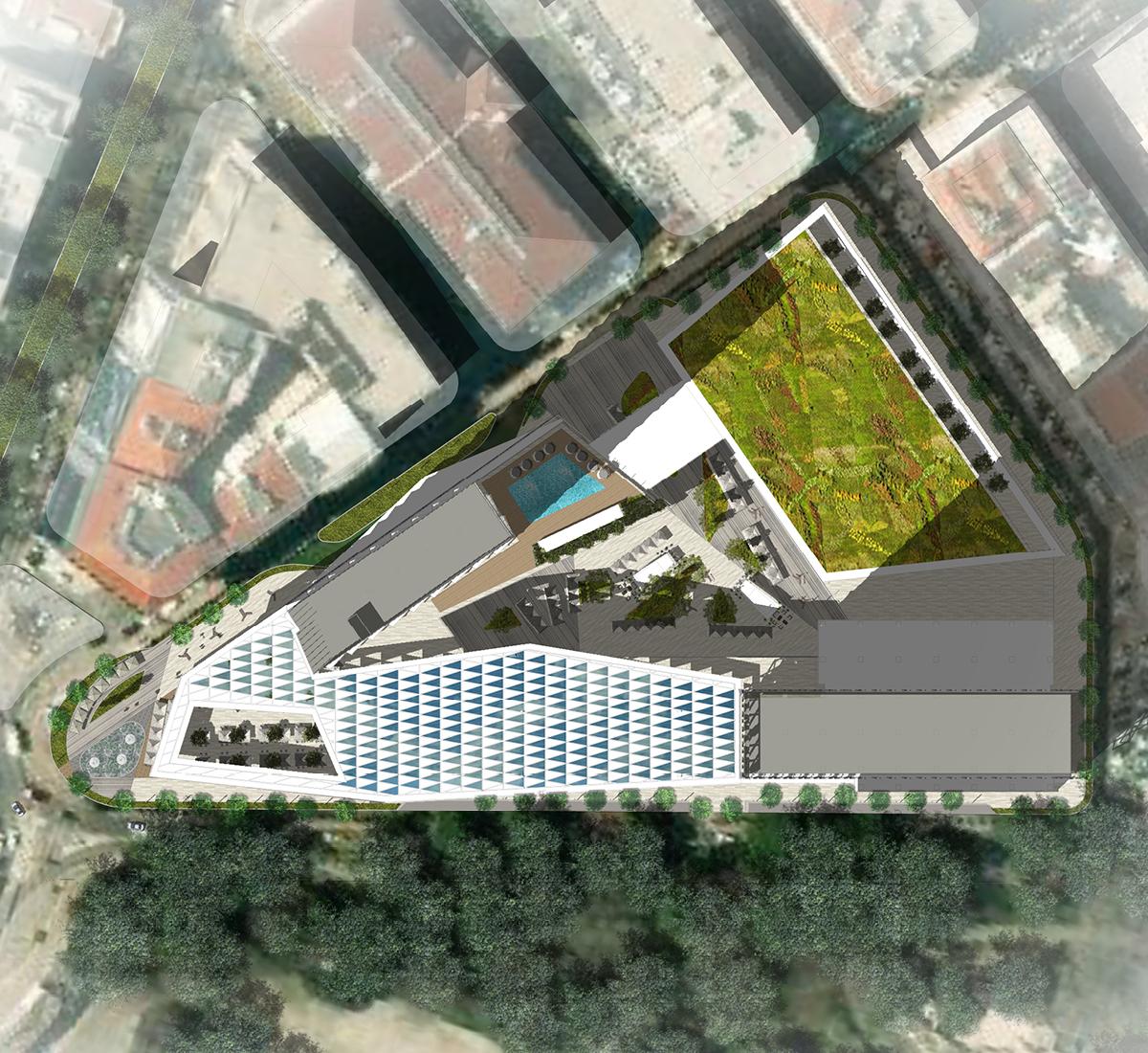City Centre Izmir master plan