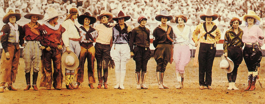 Cowgirls at the Rodeo