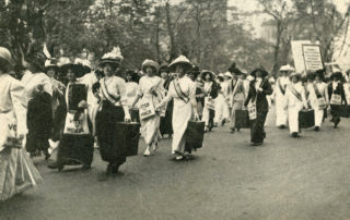 Women With Their Soapboxes, 1912
