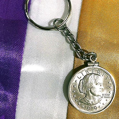 Susan B. Anthony Keychain
