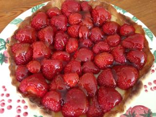 image for French strawberry tart