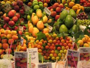Image for Spanish fruit vocabulary