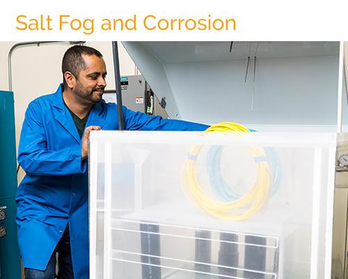 Salt Fog and Cyclic Corrosion