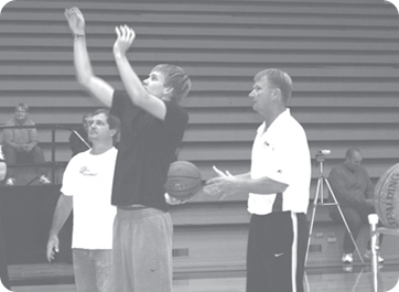 Photo of Bob Fisher and Garrett Steinlage Shooting