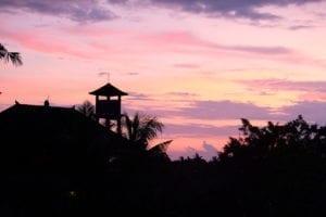 Sunset Bali Ubud
