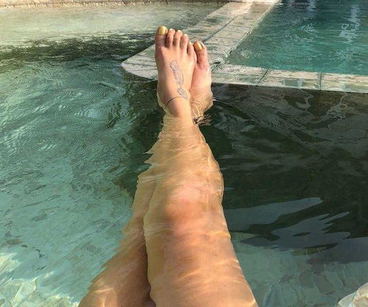 Les genoux en Yoga