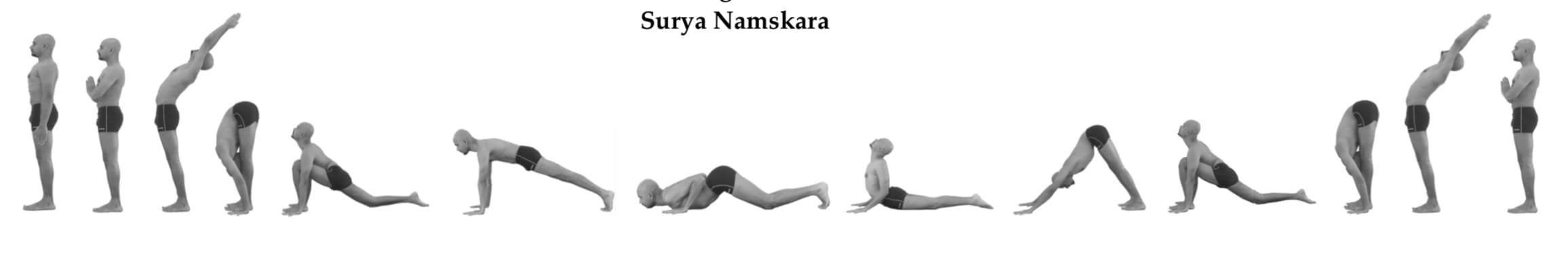 Suraya Namasakara Yogi Trupta