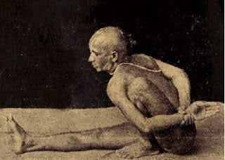 light on marichyasana a  xandra yoga