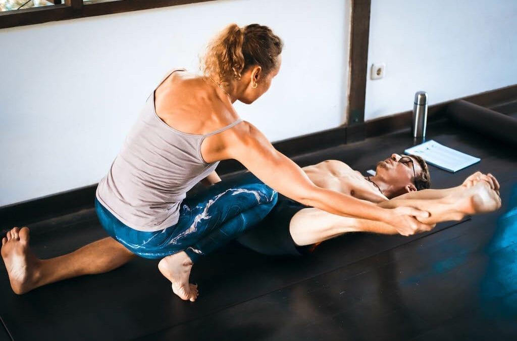 Ajustement des postures de Yoga