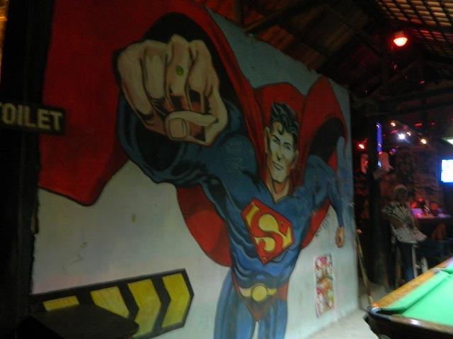 Superman est un Yogi