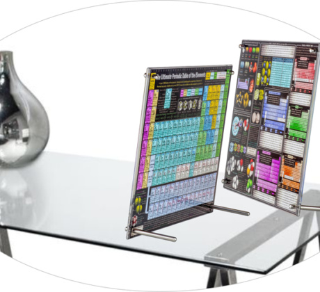 Tabletop Display Poster Tags