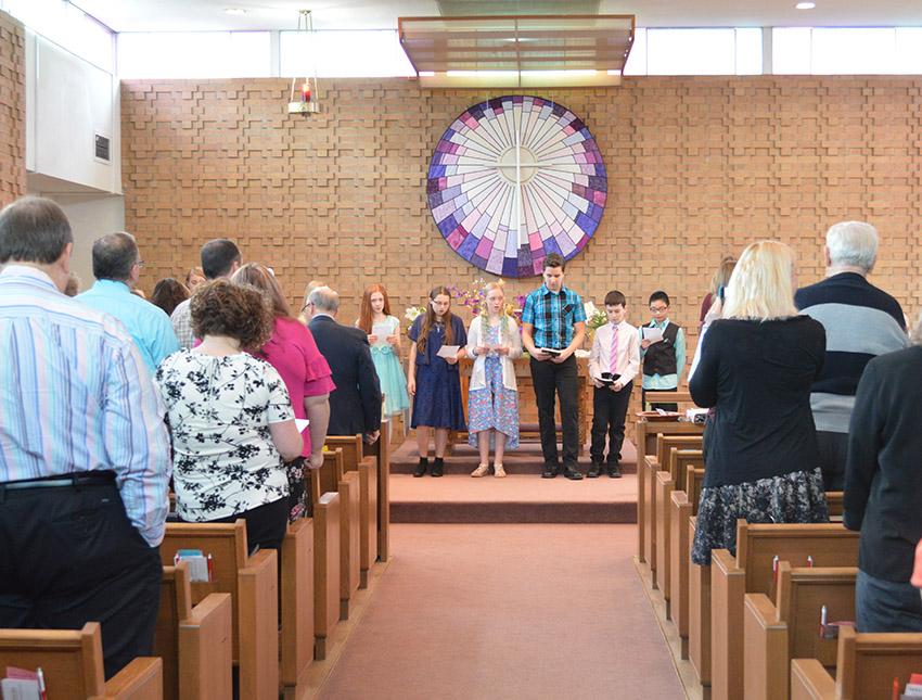 Chapel worship at Central United Methodist