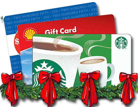 Give Scrip cards for Christmas