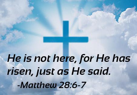 Jesus Is Risen! No Kidding!